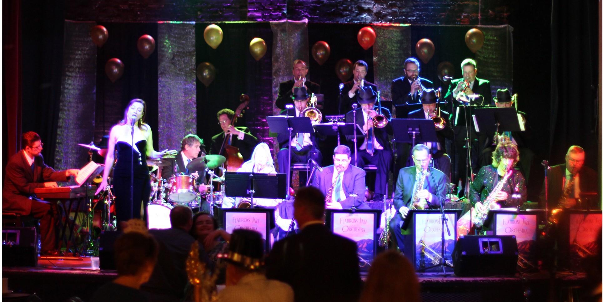 Flatirons Jazz Orchestra at Dickens Opera House