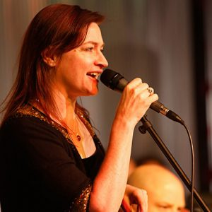 Deborah Stafford sings with the Flatirons Jazz Orchestra