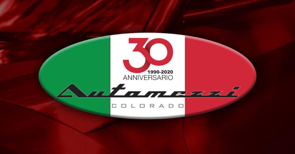 Automezzi 30th Anniversary logo
